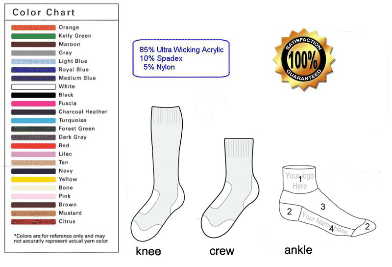 custom sock template